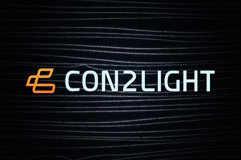 CON2LIGHT Corporate Design Logo Grafik Foto Messestand Webdesign Webseite
