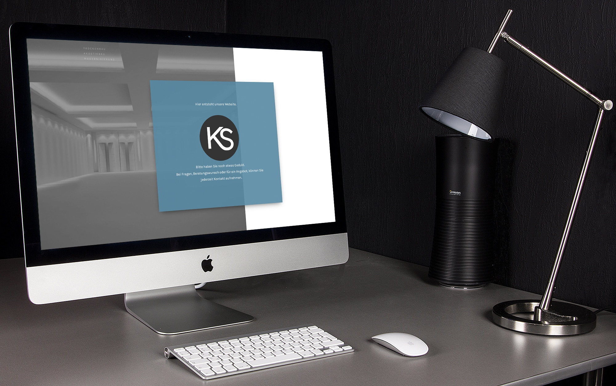 KS Baudesign Startseite Webseite Webdesign Webauftritt Website Corporate Design Logo Design Grafik