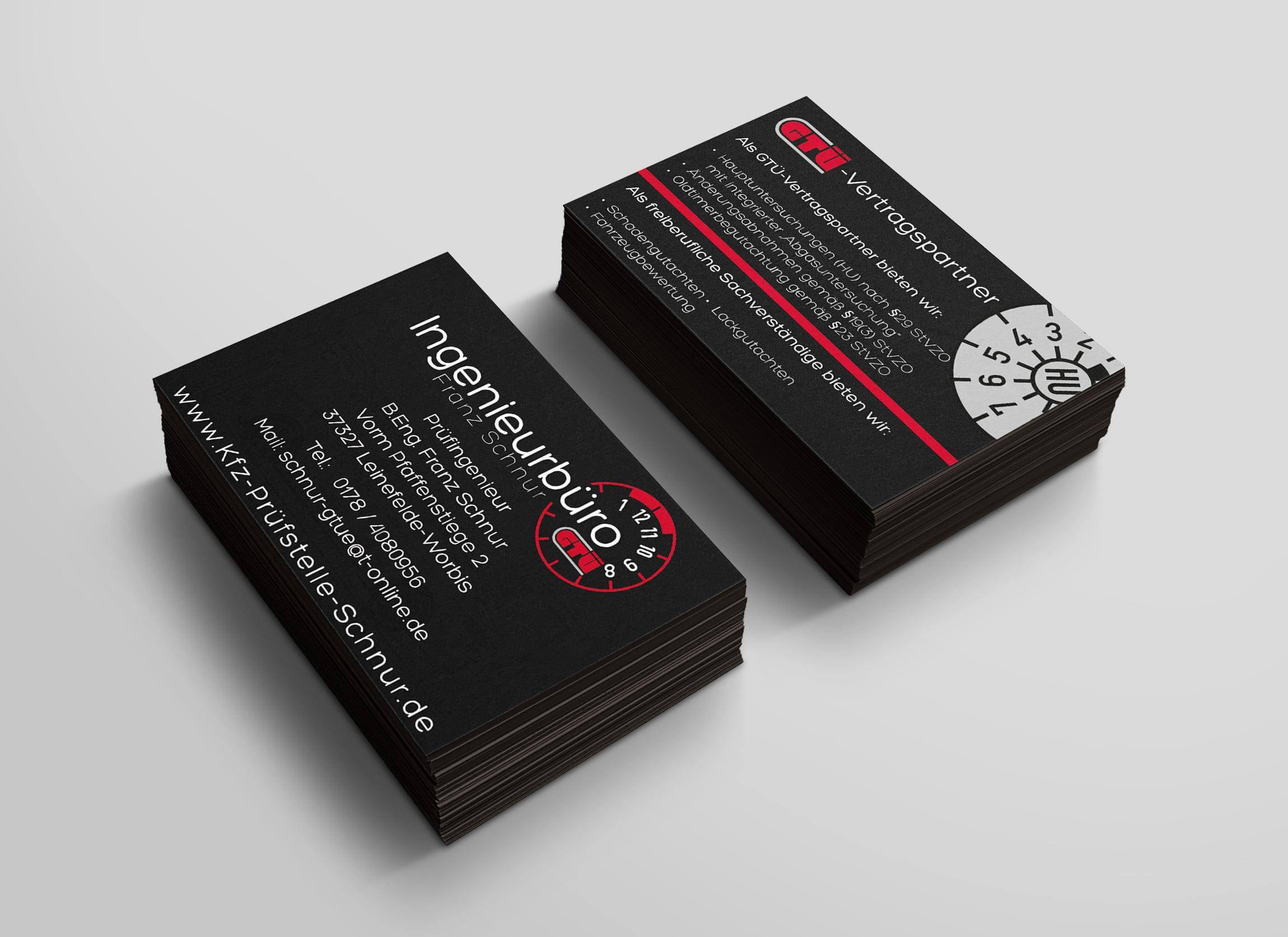 Visitenkarten Logo Branding Corporate Design Geschäftsausstattung