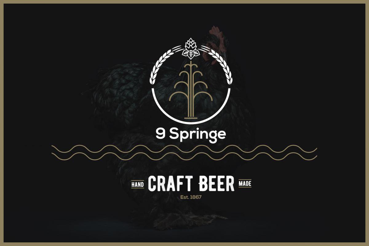 Neunspringe Bier Design Vorschlag Idee Designstudie Branding Logo Markenbildung Marken Branddesign