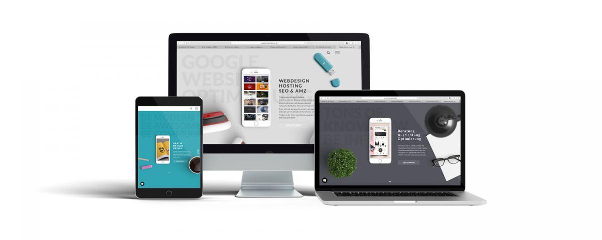Webdesign Responsive Webseite erstellen lassen Homepage erstellen lassen