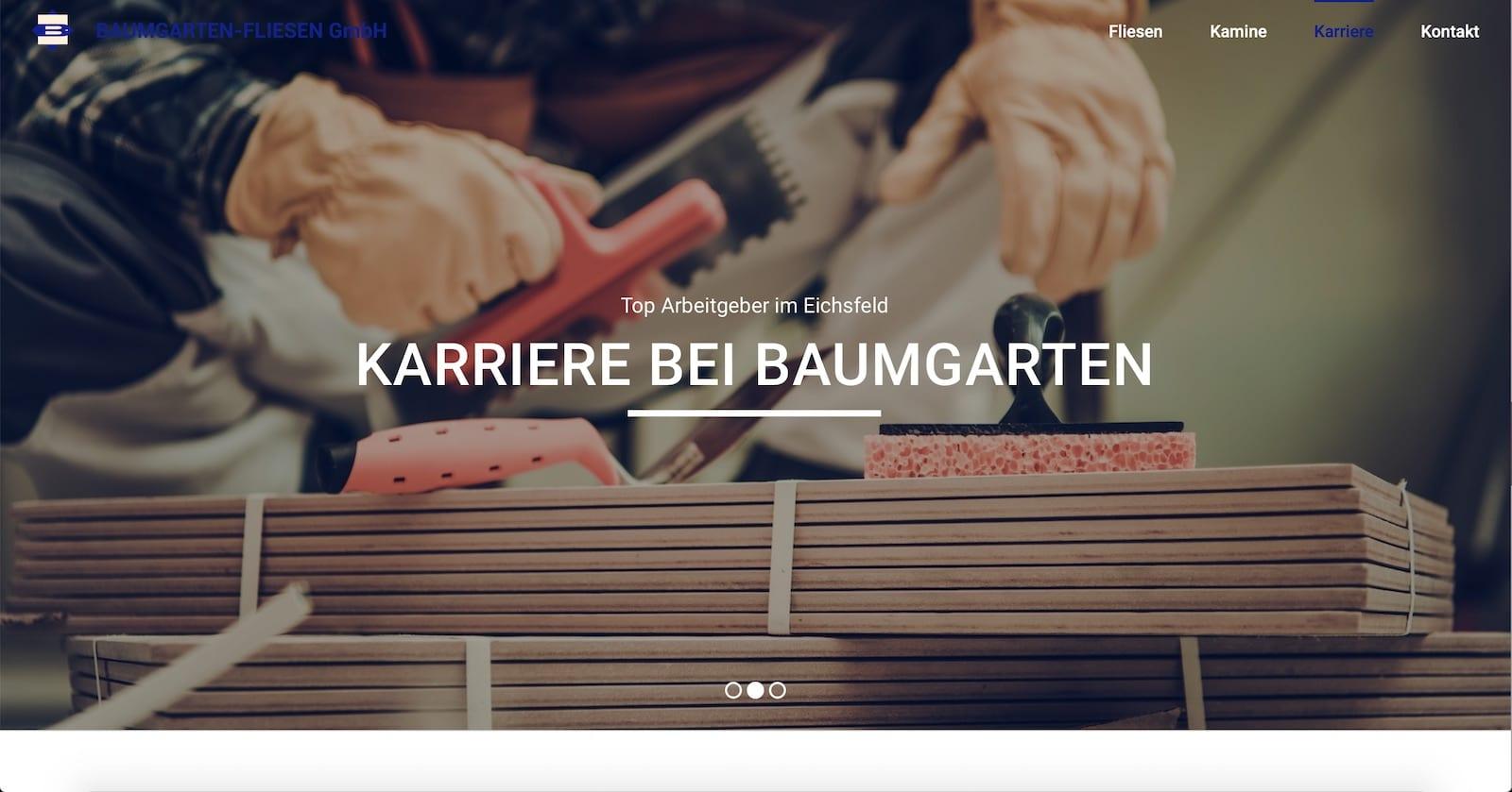 Webseite für Handwerker